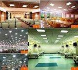 LED paneel E-Serie 120x30cm witte rand 6000k/daglicht 40w_