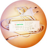 LED Paneel 60x60cm Basic complete incl. Netsnoer 4000k/Neutraalwit _