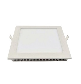 12W LED downlight inbouwpaneel vierkant 170x170mm 6000k/daglicht