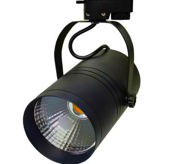 1 FASE LED TRACKLIGHT 25W BLACK BODY 2800k/Warmwit