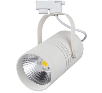 1 FASE LED TRACKLIGHT 25W WHITE BODY 2800k/Warmwit
