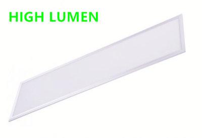 HIGH LUMEN LED paneel 120x30cm 36w witte rand 3000k/warmwit
