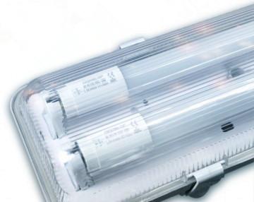 IP65 ARMATUUR T.B.V. 2X LED TL- BUIS 120CM