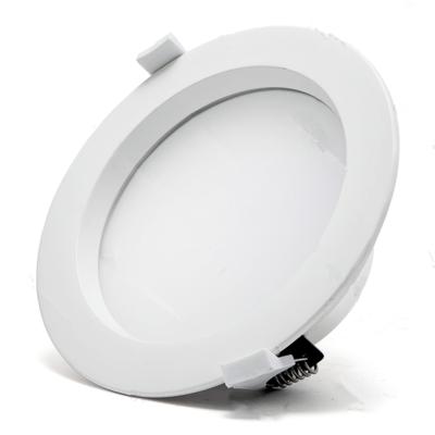 LED downlight COB prof. 18w 3000k/warmwit ∅195mm