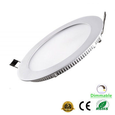 LED downlight inbouwpaneel rond Excellence 12w 2800k/warmwit