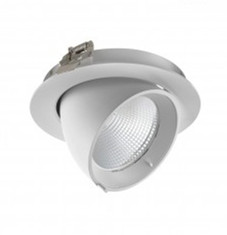 LED DOWNLIGHT KANTELBAAR Ø145 24W-4000k/Neutraal wit