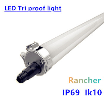 LED Tri-proof Light rancher prof. Rond 150cm 45W- 6000k daglicht
