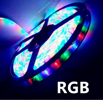 LED STRIP RGB 12v SMD5050 60 LEDs/m 5 meter rol * IP22