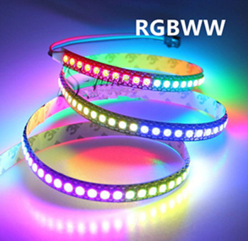 LED STRIP RGBWW 12v SMD 5050 60 LEDs/m 5 meter rol * IP22