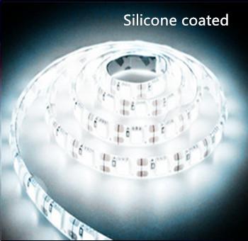 LED STRIP Silicon 12v  SMD 2835 60 LEDs/m 6000K/daglicht 5 meter rol * PROFESSIONAL