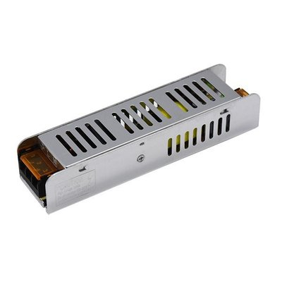 LED STRIP POWER SUPPLY SLIM 150W 24V 6,2A - METAL