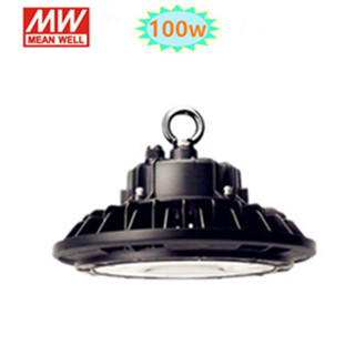 100w LED HIGH BAY LIGHT UFO 4000K/Neutraalwit*Meanwell driver