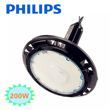 LED HIGH BAY LIGHT UFO 200w 4000K/Neutraalwit * Philips driver