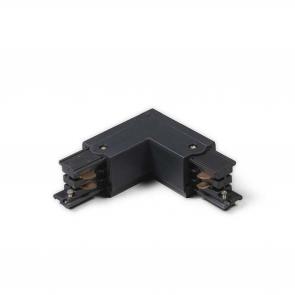 CONNECTOR L-vorm 3 fase zwart