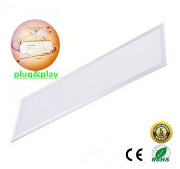 LED Paneel 120x30cm Basic complete incl. Netsnoer 4000k/Neutraalwit