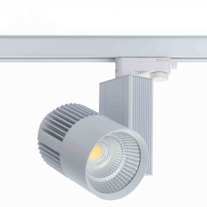 3 FASE LED RAILSPOT Prof. 40w WHITE BODY 3000k/Warmwit