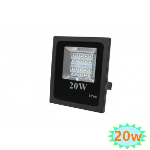 LED FLOODLIGHT Basic IP65  20W 6000K daglicht