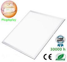 LED Paneel 60x60cm Basic complete incl. Netsnoer 4000k/Neutraalwit