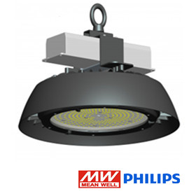 UFO LED high bay lamp 200w 135lm/w 5500k/daglicht *dimbaar